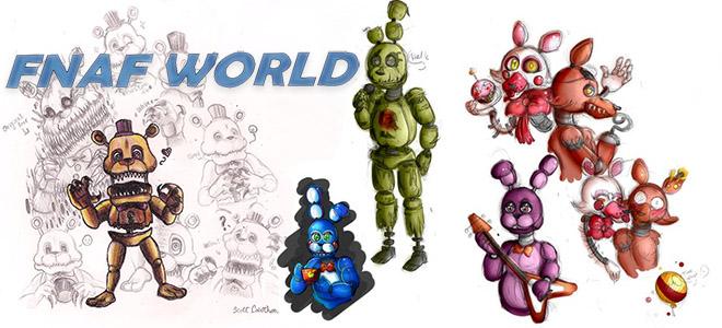 Fnaf world (фнаф ворлд) скачать игру на андроид бесплатно.